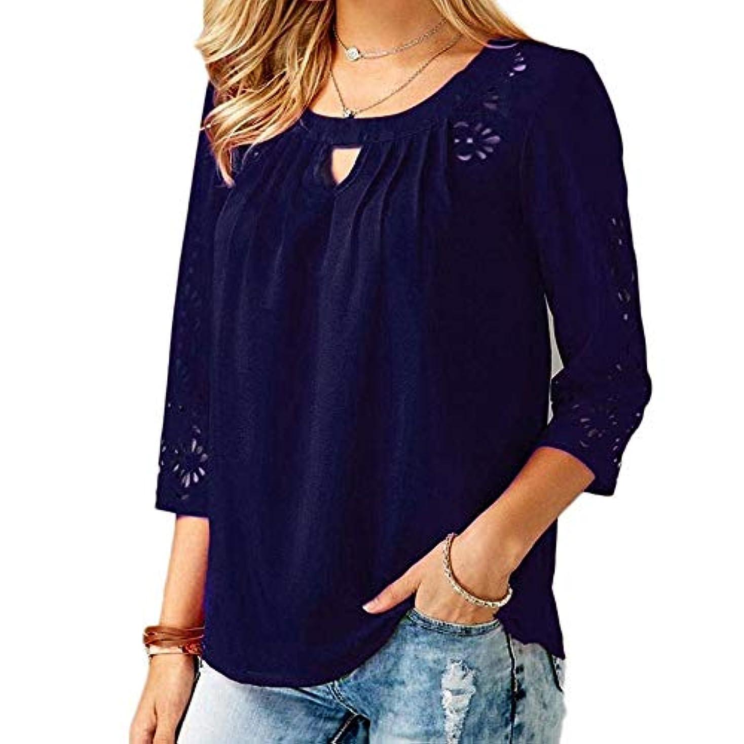 ギャザー請求書邪魔MIFAN ゆったりTシャツ、シフォンシャツ、カジュアルシャツ、女性トップ、プラスサイズトップ