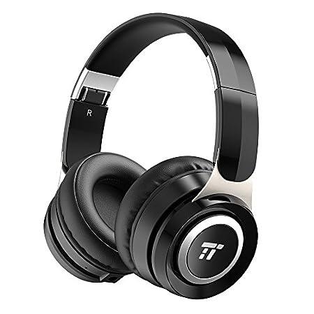 【23時40分まで】TaoTronics 密閉型Bluetoothヘッドフォン 有線無線兼用 TT-BH048 1,367円送料無料!