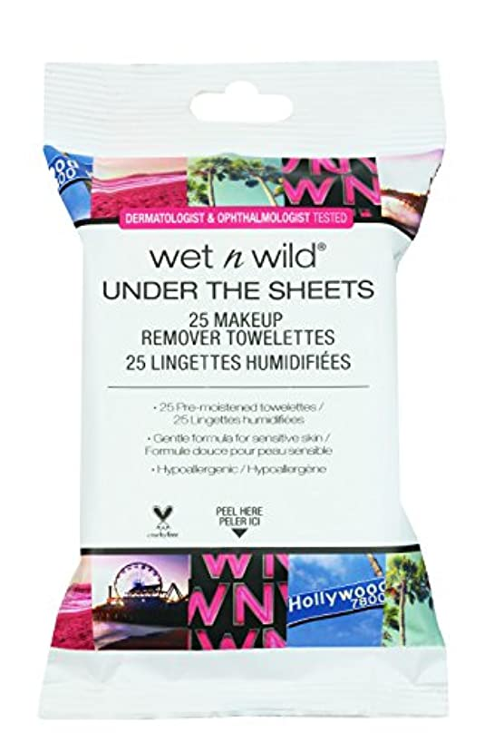 キャストうなり声寝室を掃除するWET N WILD Under the Sheets Makeup Remover Wipes - 25 Towelettes (並行輸入品)