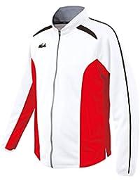 ニシ?スポーツ(NISHI) ライトトレーニング ジャケット N70-25J 0601 レッド/ホワイト XO