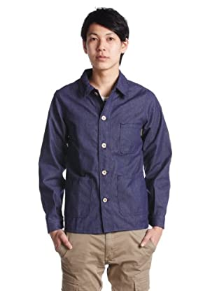 Polyester Cotton Work Jacket 1225-414-6227: Navy