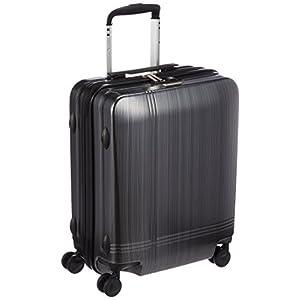 [アバロン] スーツケース クロノス 機内持込可 35L 48cm 2.8kg 05939 12 ブラックヘアライン