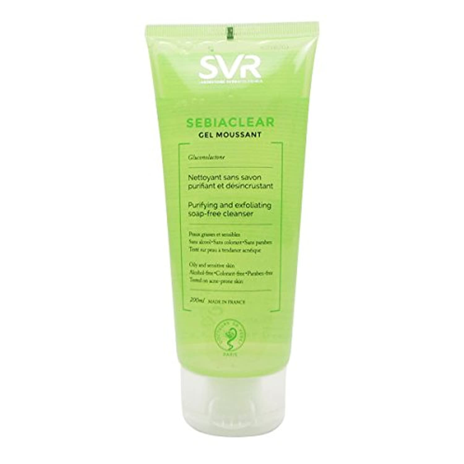Svr Sebiaclear Purifying And Exfoliating Cleanser 200ml [並行輸入品]