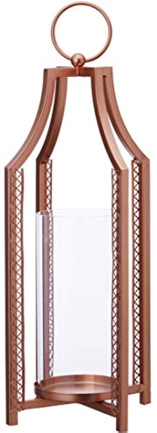 見出し効率的びっくりカメヤマキャンドルハウス モロッカンスタンド(ガラスホヤ付き) コパー 1個