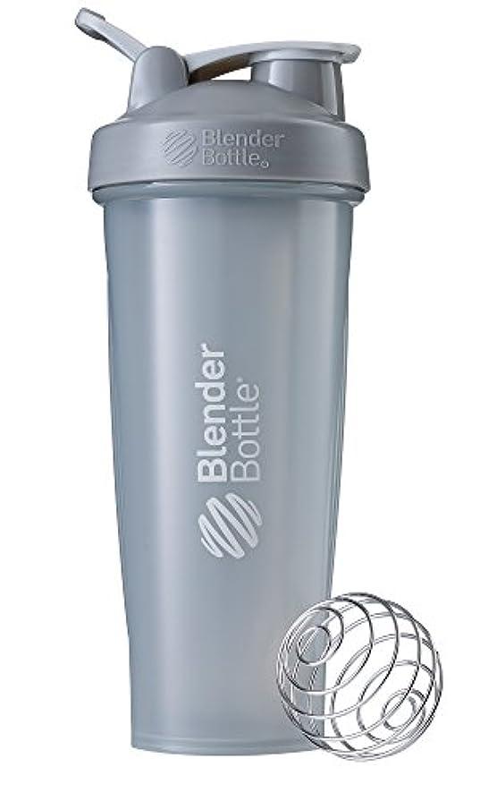 アデレード間接的遺棄されたBlenderBottle Classic ブレンダーボトル クラシック Shaker Bottle 32-Ounce Loop Top PEBBLE GREY CLSC32LOOP