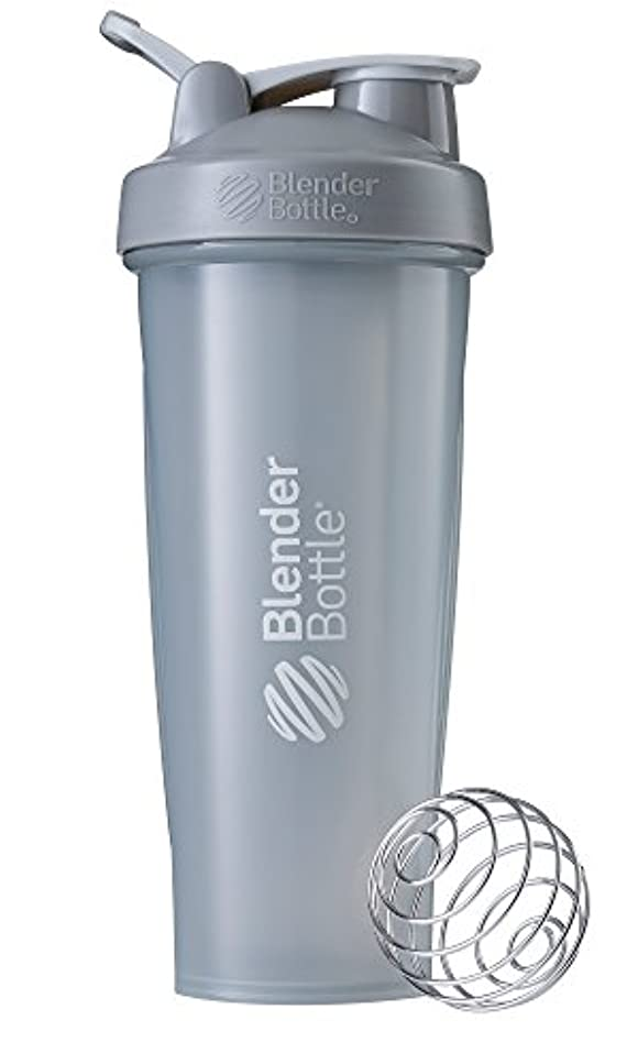傾向がある今まで労働BlenderBottle Classic ブレンダーボトル クラシック Shaker Bottle 32-Ounce Loop Top PEBBLE GREY CLSC32LOOP