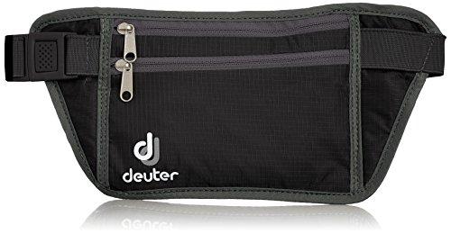 [ドイター] deuter セキュリティーマネーベルト S D39124 7410 (ブラック×グレー)