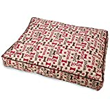 """Ethical Pets 32907 Sleepzone Pillow""""Woof"""" Dog Bed, 40"""", Taupe"""