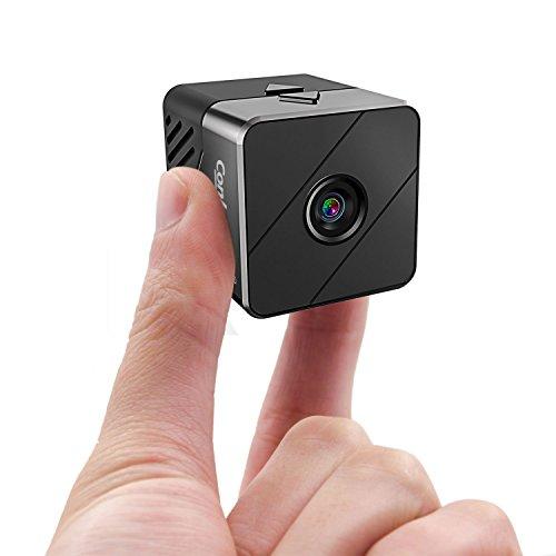 Conbrov 小型動体検知カメラ 隠し暗視ビデオカメラ コ...