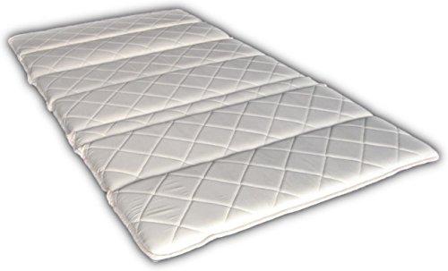 七つ折りパームマットレス シングル 二段ベッドに最適 FibreLux純正品 天然ココナッツ100%