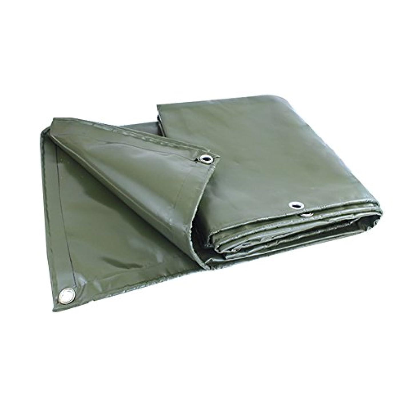 迷彩夕食を作るクラッシュZHANWEI ターポリンタープ 厚くする 防水 耐摩耗性 雨布 にとって 列車 汽船、 厚さ0.4mm、 180g /㎡、 カスタマイズ可能なサイズ (色 : Green, サイズ さいず : 3x3M)
