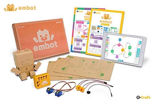 プログラミングおもちゃ 教育・知育ロボット embot(e-Craftシリーズ)