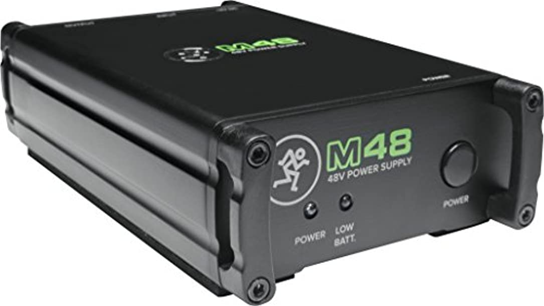 まさに構造的存在MACKIE マッキーシングル48Vファンタム電源M48 国内正規品