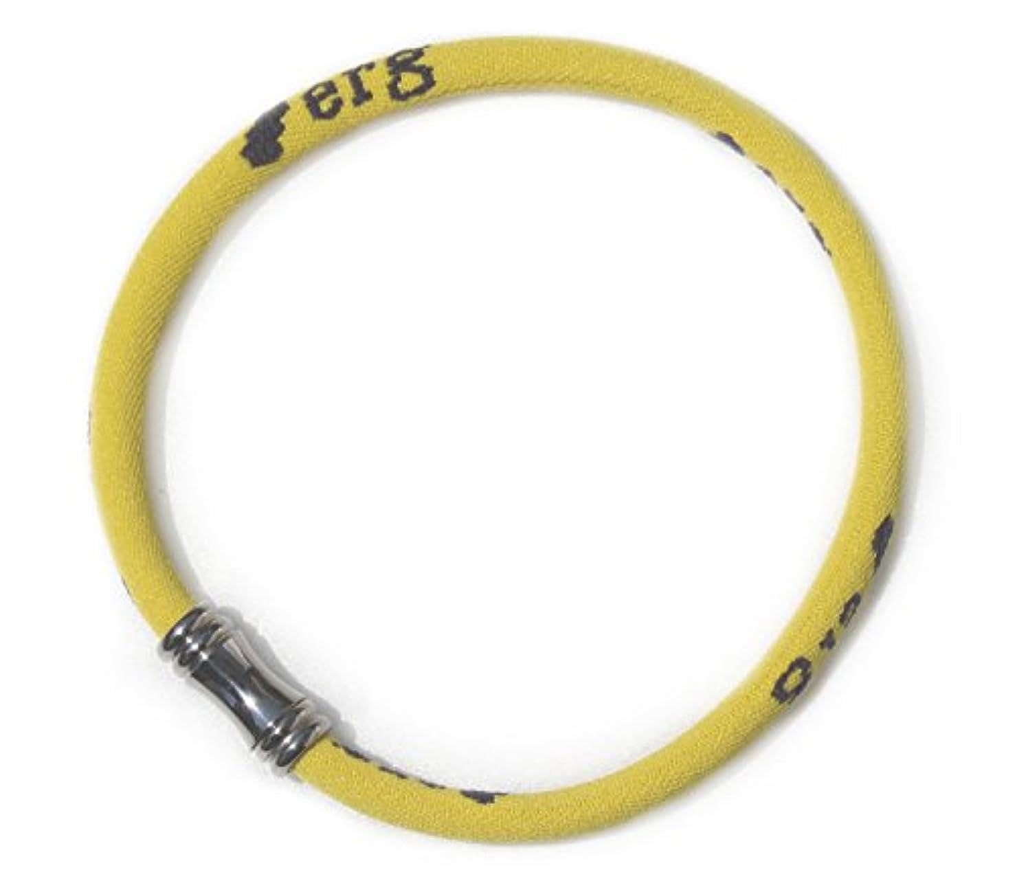 原因溶けた愛国的な[エルグ] スポーツアンクレット Limited Edition Yellow EGSLA106
