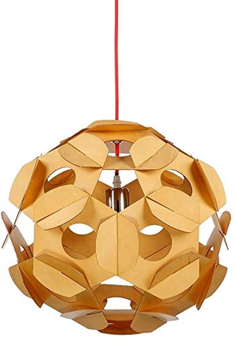 マルクス主義者離婚泳ぐ現代のクリエイティブペンダントライト木製人格ledシーリングライトボールランプシェード屋内アート装飾照明器具用寝室リビングルームキッチンダイニングバー廊下
