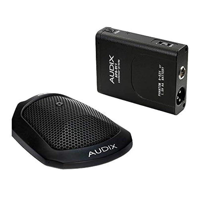 ベスビオ山ピカソ延ばすAUDIX バウンダリーマイク ADX60 + 専用ファンタム電源アダプター(電池式)セット