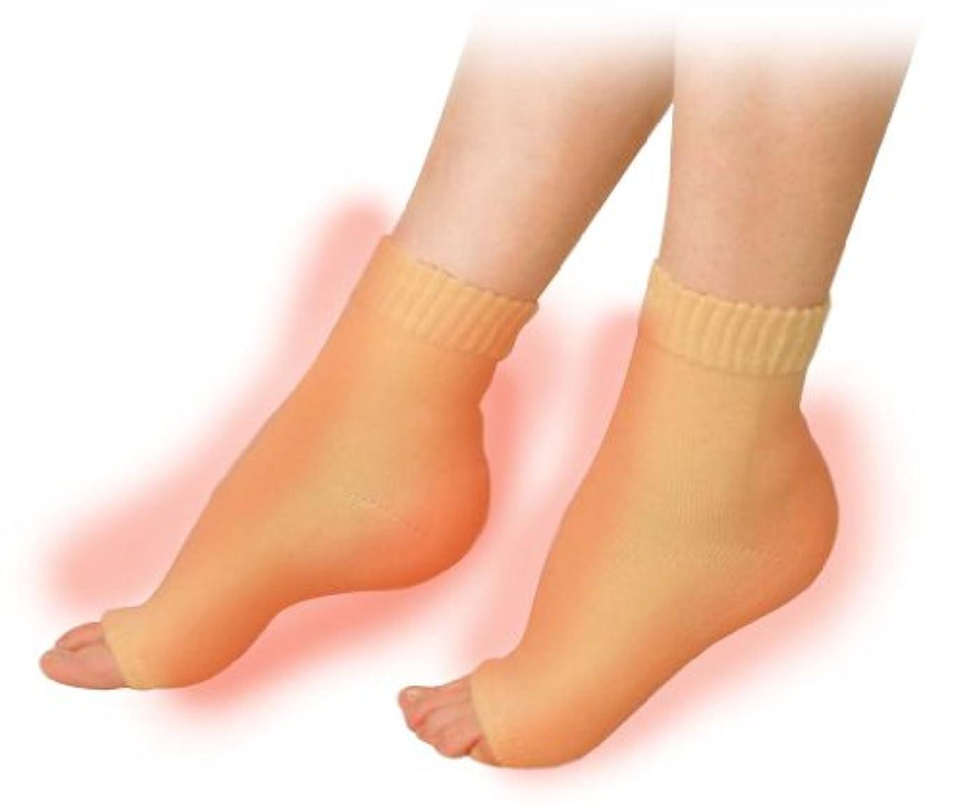 累計切手本気素足美女 発熱かかとナイトエステ かかと足裏2ヶ所タイプ