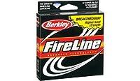 Berkley Fireline 125ydフィラースプール–クリスタル–10ポンドテスト