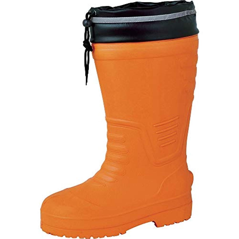 中断オープニングトンネルジーベック EVAめちゃ軽防寒長靴 85712 オレンジ 4L 85712-82-4L 29.0 cm