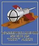 コラモデルス 1/72 ドイツ軍 SB 800RS 「クルト」 800kg 反跳爆弾1型 w/運搬ソリ プラモデル用パーツ KOC72132