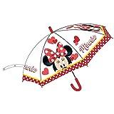 9722 ディズニー ミニーマウス 子供用 傘 自動傘 ジャンプ傘 直径75cm Disney Minnie Mouse umbrella [並行輸入品]