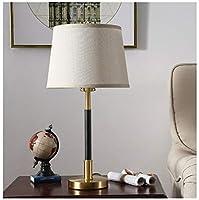 ZCYX シンプルな家庭用卓上スタンド寝室の部屋ベッドサイドデスクランプリビングルーム研究読書ランプ -874 電気スタンド