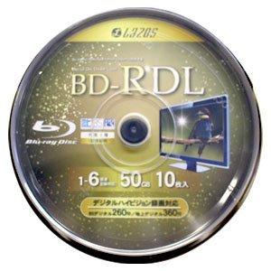 lazos L-BDDL10 (BD-R DL 50GB 6倍速10枚)