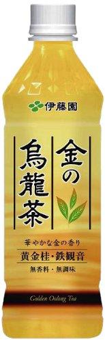 金の烏龍茶 ペット 500mlx24本