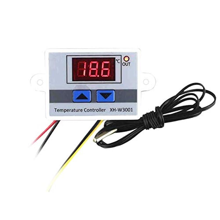 説明する運命的な賢明なデジタルLED温度調節サーモスタットの制御は、防水プローブを切り替えます