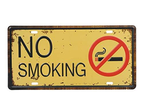 (オールドボーイ) Old-boy ブリキ看板 No Smoking ノースモーキング 禁煙 レトロ...
