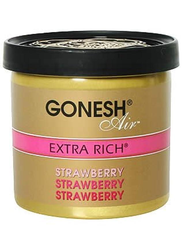 パトワ変換する予言するガーネッシュ(GONESH) ゲルエアフレッシュナー ストロベリー 78g