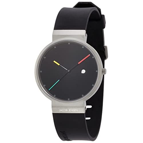 [ヤコブイェンセン]JACOB JENSEN 腕時計 Titanium 640  【正規輸入品】