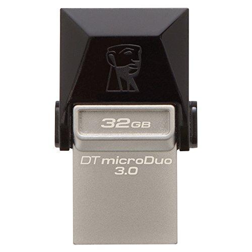 キングストン Kingston USBメモリ 32GB USB3.0 DataTraveler microDuo 3.0 DTDUO3/32GB 5年保証
