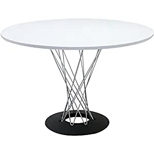 イサムノグチ サイクロンテーブル 110Φ 天板ホワイト 丸テーブル ダイニングテーブル コーヒーテーブル isamu noguchi