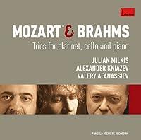 モーツァルト&ブラームス:クラリネット三重奏曲