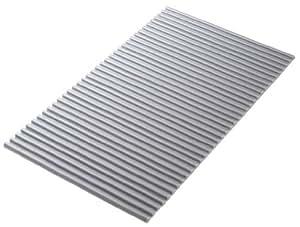 東プレ 抗菌タイプ シャッター式風呂ふた イージーウェーブ 75×140cm メタリックグレー L14