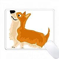 面白いウェールズコギ子犬犬のアート PC Mouse Pad パソコン マウスパッド
