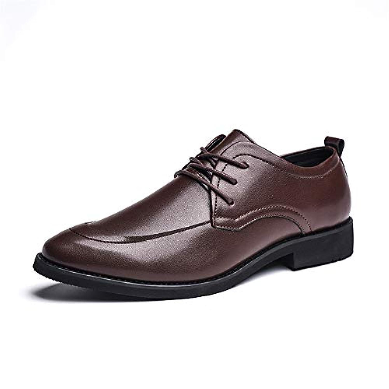 靴 男性 ビジネス オックスフォード カジュアル シンプル クラシック フォーマル シューズ 通気