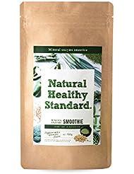 NaturalHealthyStandard(ナチュラルヘルシースタンダード) ミネラル酵素グリーンスムージー 豆乳抹茶味 160g