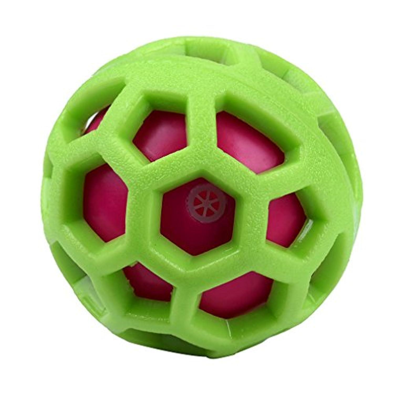 耐久性非毒性ペットの歯のクリーニング犬おもちゃボールトレーニングのby vibolaランダム色 L Vibola®25