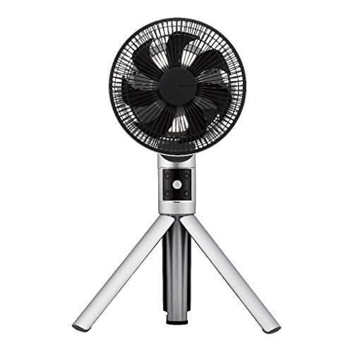 カモメファン 扇風機 リビングファン 20cm シルバー FKLS-201D SI