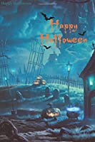 Happy Halloween: Notebook  for writing and drawing (110 Pages, Blank, 6 x 9) 017