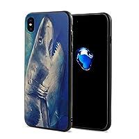 Epoch Ray Great White Shark IPhoneX ケース スマホケース 落下防止 カバー リング付き 全面保護 携帯カバー 携帯ケース 超薄 超軽量 衝撃 おしゃれ 男女兼用