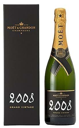 モエ・エ・シャンドン グラン ヴィンテージ 2008 ギフトボックス入り 750ml [フランス/スパークリングワイン/辛口/ミディアムボディ/1本][国内正規品]