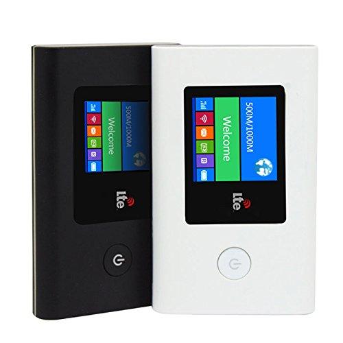 海外 対応 SIM フリー 日本語 メニュー 可能 4G LTE 格安 モバイルルーター ◇4GWIFI 技適マークなし (ホワイト)