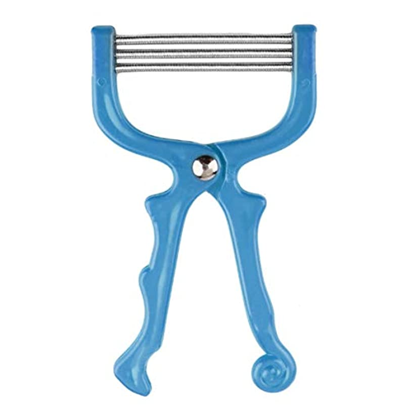 Intercorey安全なハンドヘルドスプリングローラー女性の顔の顔の毛の除去脱毛器美容器脱毛器エピローラーフェイスケアマッサージャー