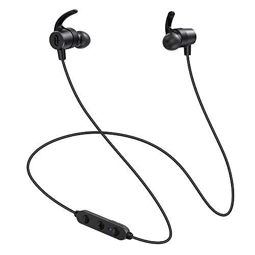 Bluetooth イヤホン TaoTronics Bluetooth 5.0 ワイヤレス 高音質 IPX5 防水 【SBC/AAC/apt-X HD対応 CVC8.0 EQ調整】 自動ペアリング 13時間連続再生 Siri対応 iPhone/ipad/Android適用 TT-BH072