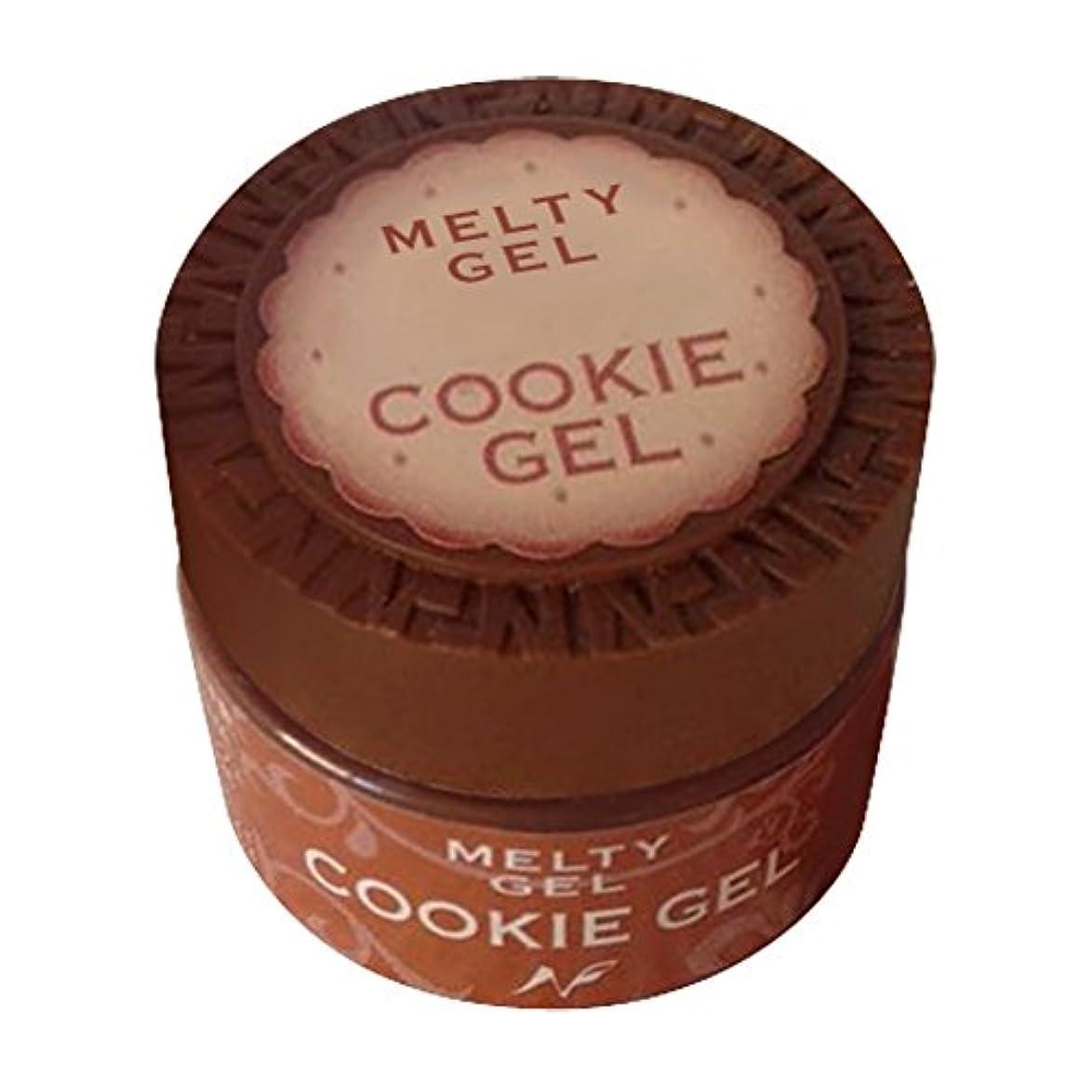 乞食圧倒的ところでNatural Field Melty Gel クッキージェル 3903サンセットレッド 5g
