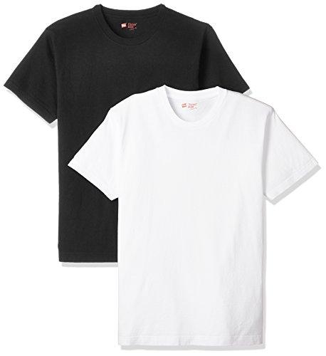 (ヘインズ)Hanes Tシャツ ジャパンフィット クルーネック 2枚組【アソート】 H5120 998 アソート L