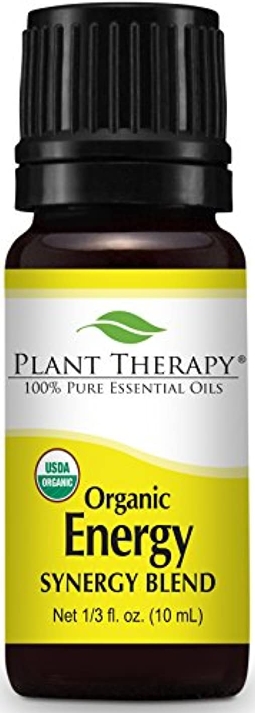 ハイジャック活気づける勢いPlant Therapy Energy Organic Essential Oil Blend. 100% Pure and Undiluted for Aromatherapy, Diffuser, and Personal...